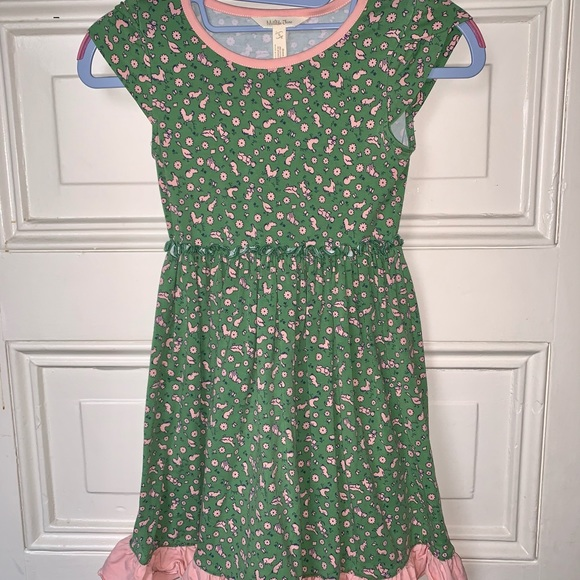 Sz 6 Matilda Jane Multi-Animal Twirl Soft Dress